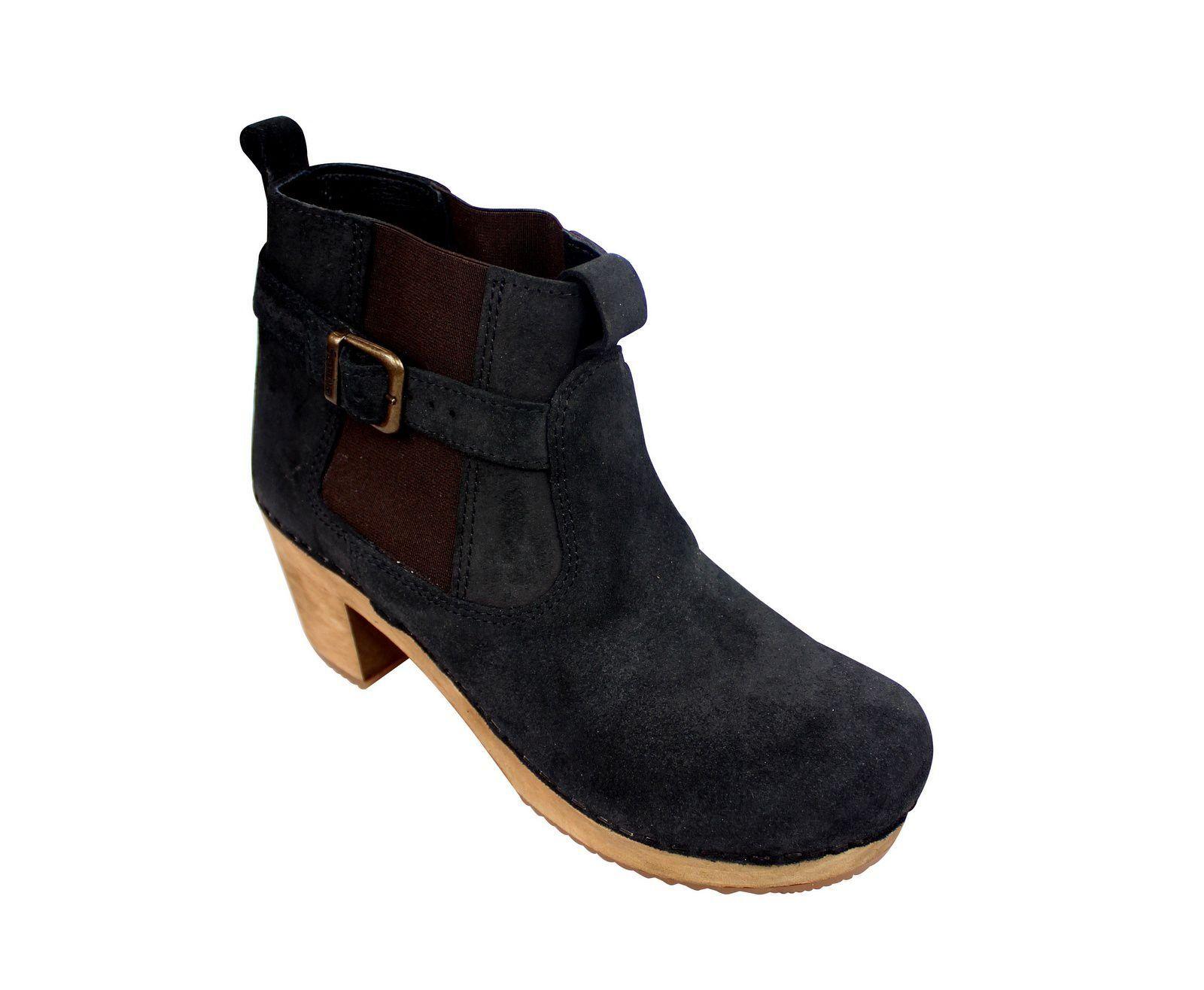 Sanita Peggy Sue Jodphur style ankle boots Black