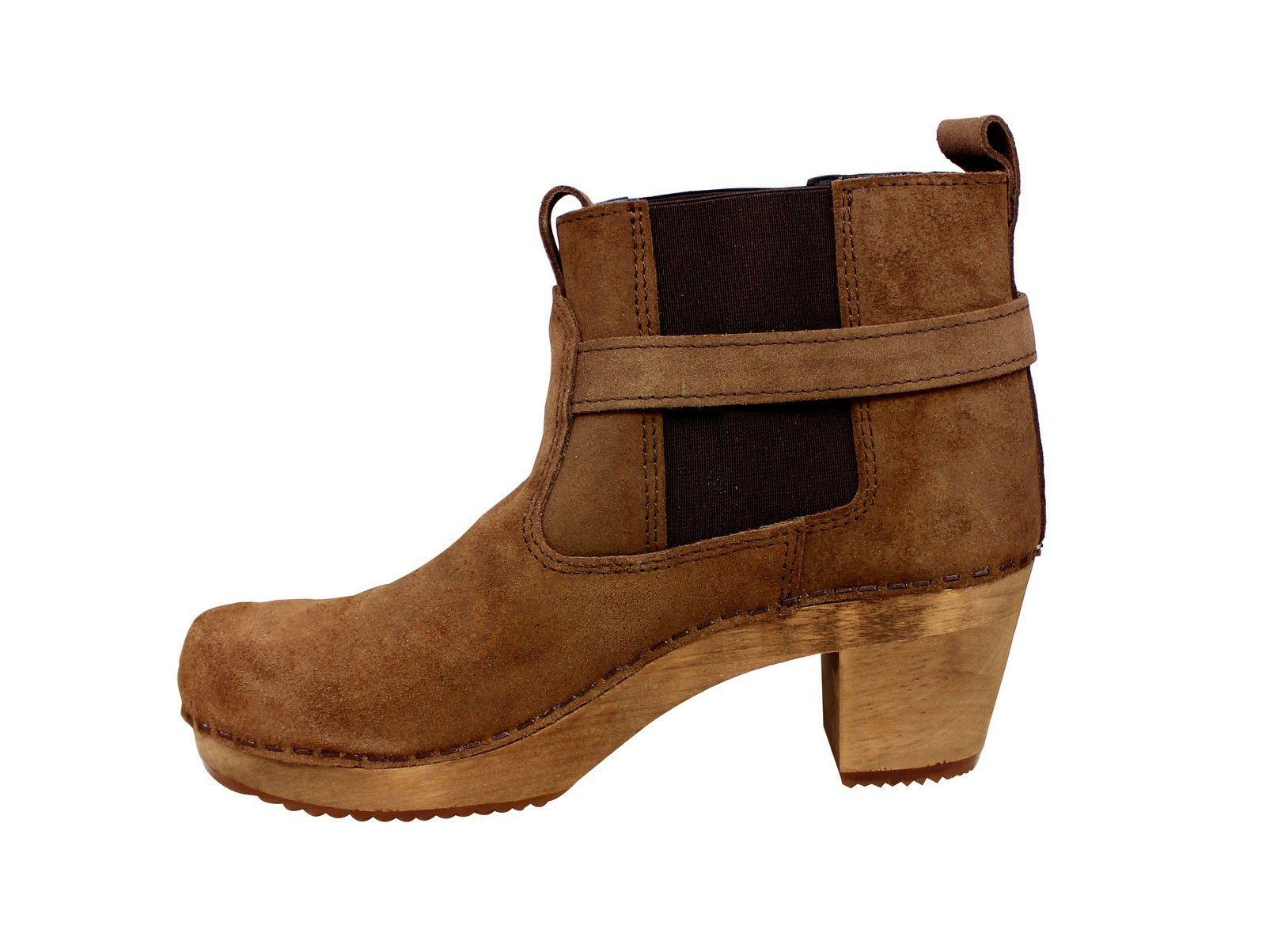 Sanita Peggy Sue Jodphur style ankle boots Antique Brown