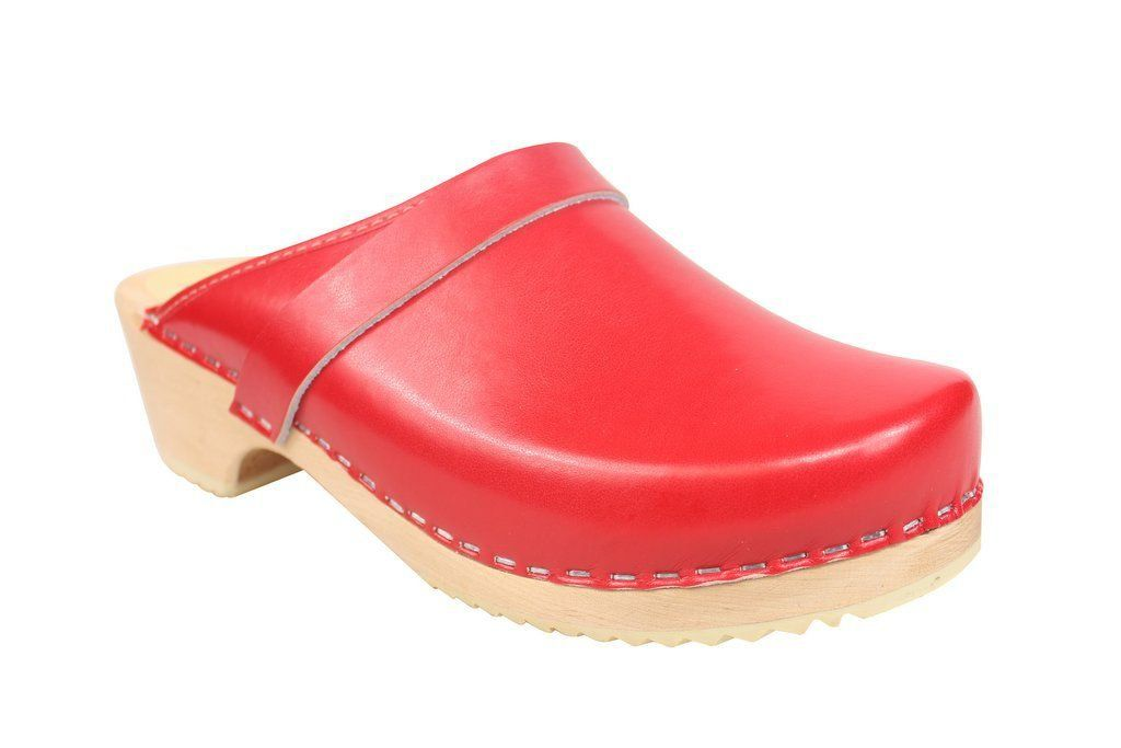 classic red clog main