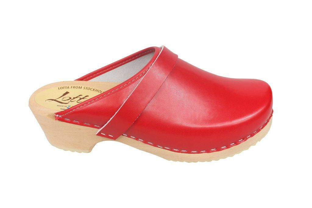 classic red clog side 2