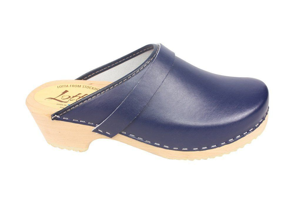 classic blue clog side 2