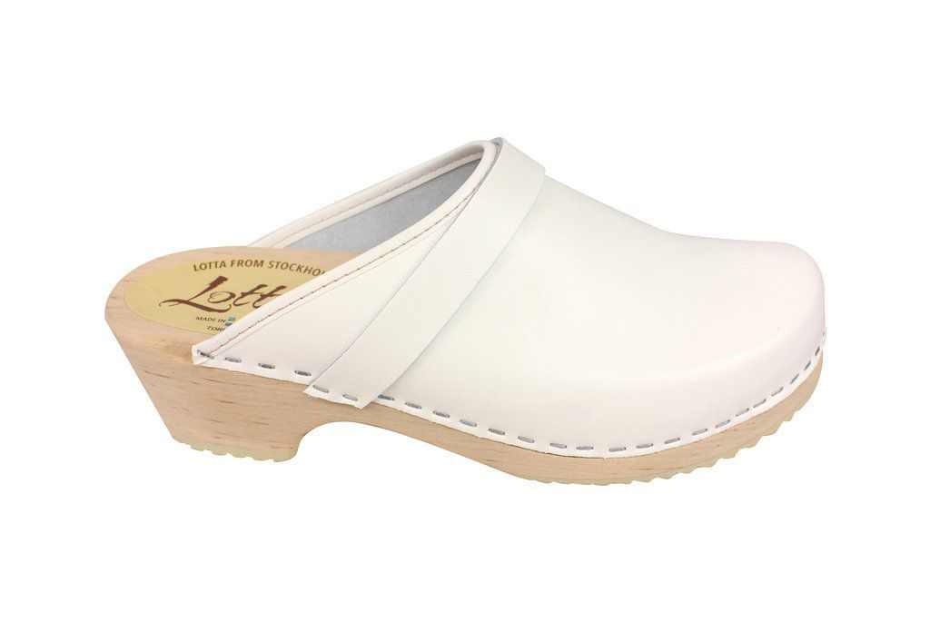 classic white clog side 2