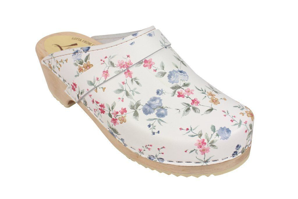 classic wildflower clog