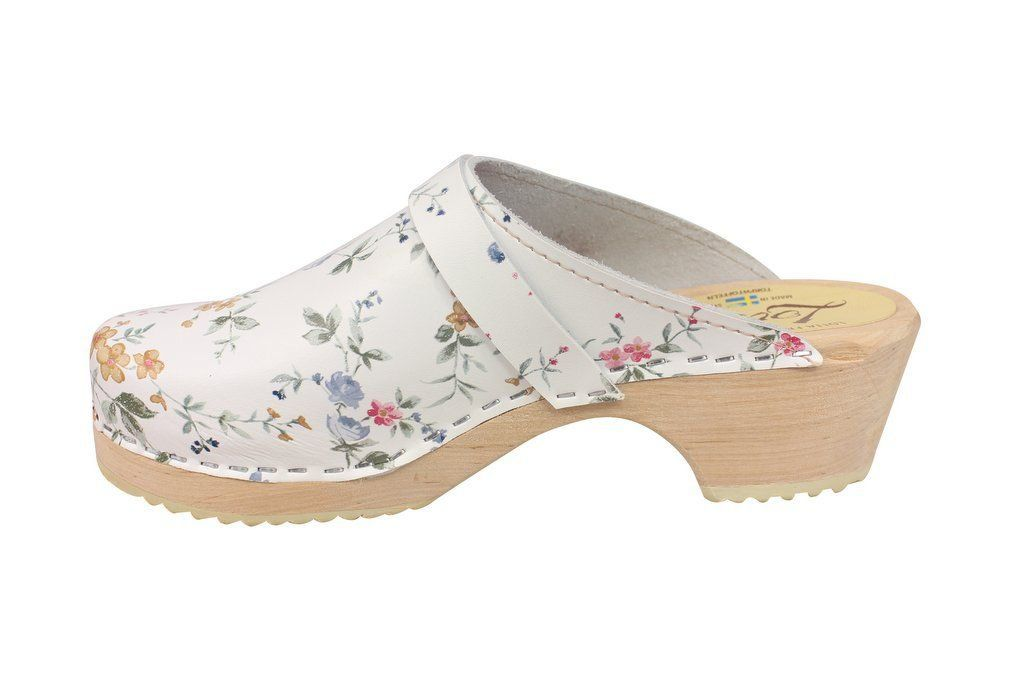 classic wildflower clog rev side