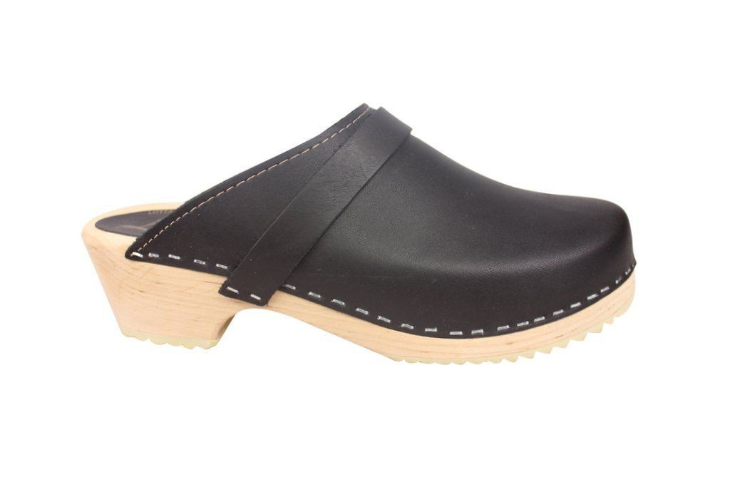 Torpatoffeln Classic Clog Black Side
