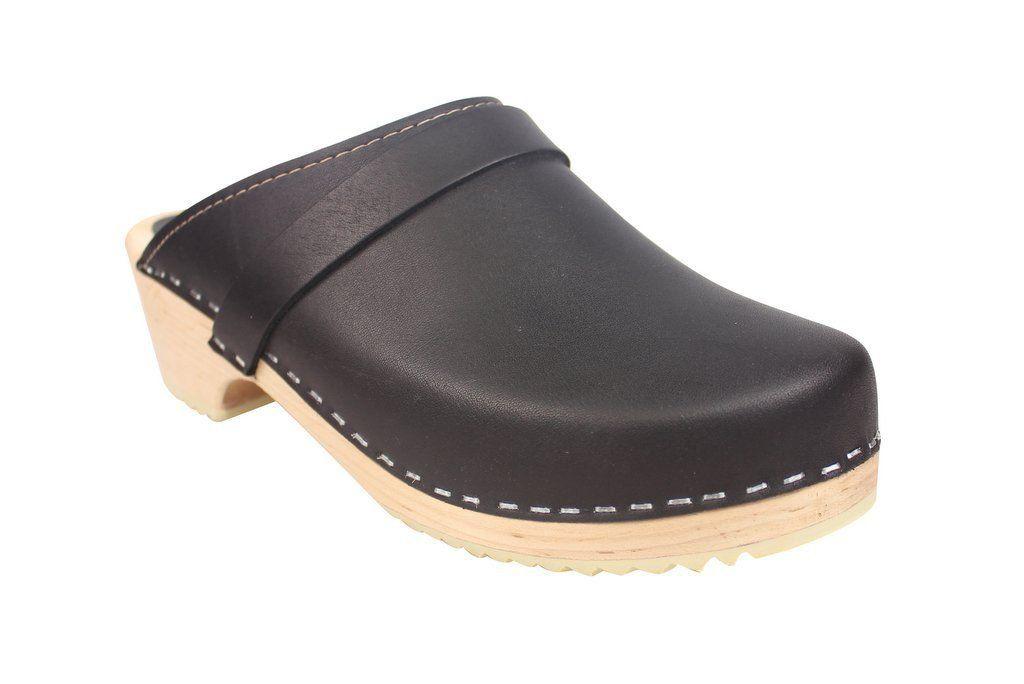 Torpatoffeln Classic Clog Black Main