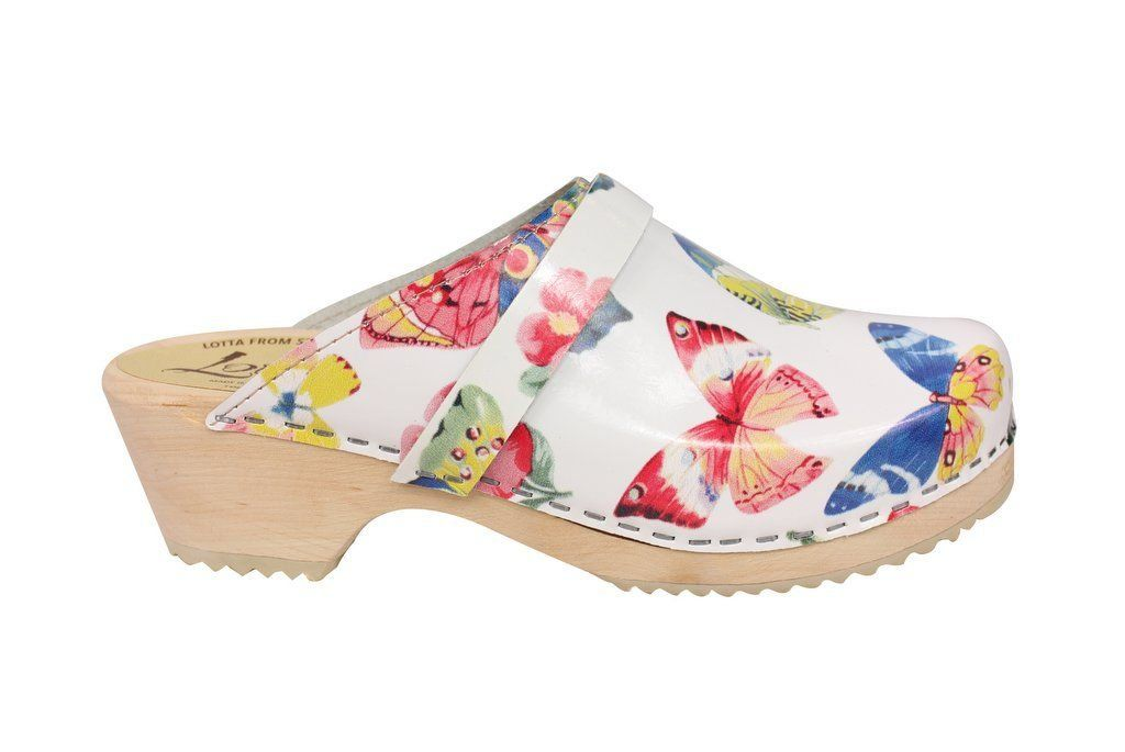 Classic Butterfly Clog Side