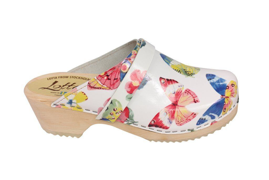 Classic Butterfly Clog Side 2