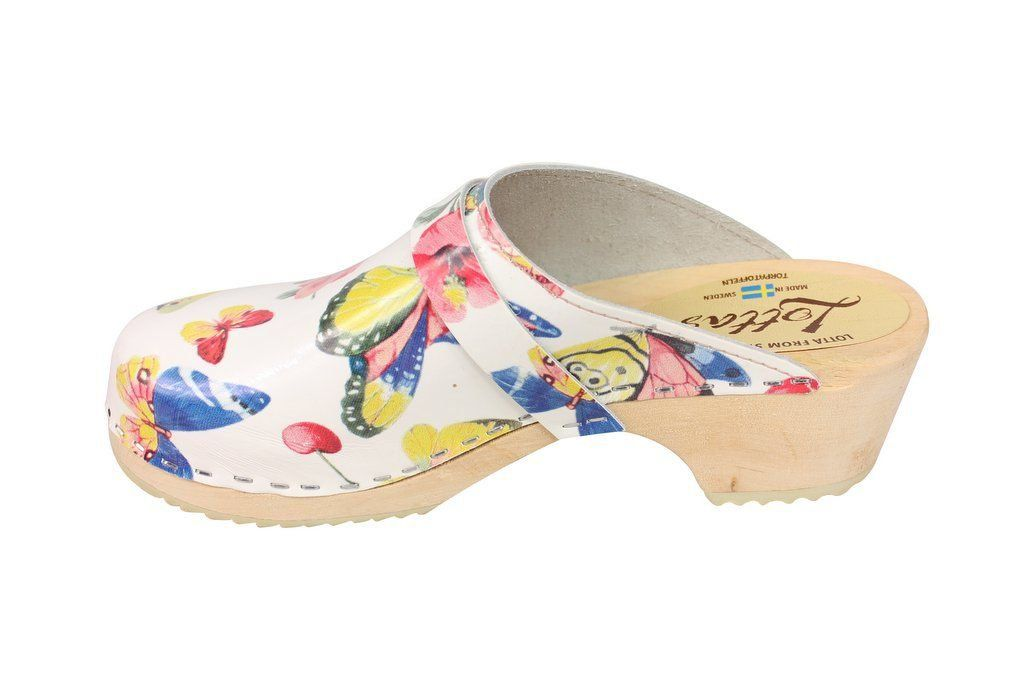 Classic Butterfly Clog Rev Side 2