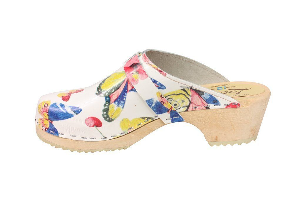 Classic Butterfly Clog rev Side