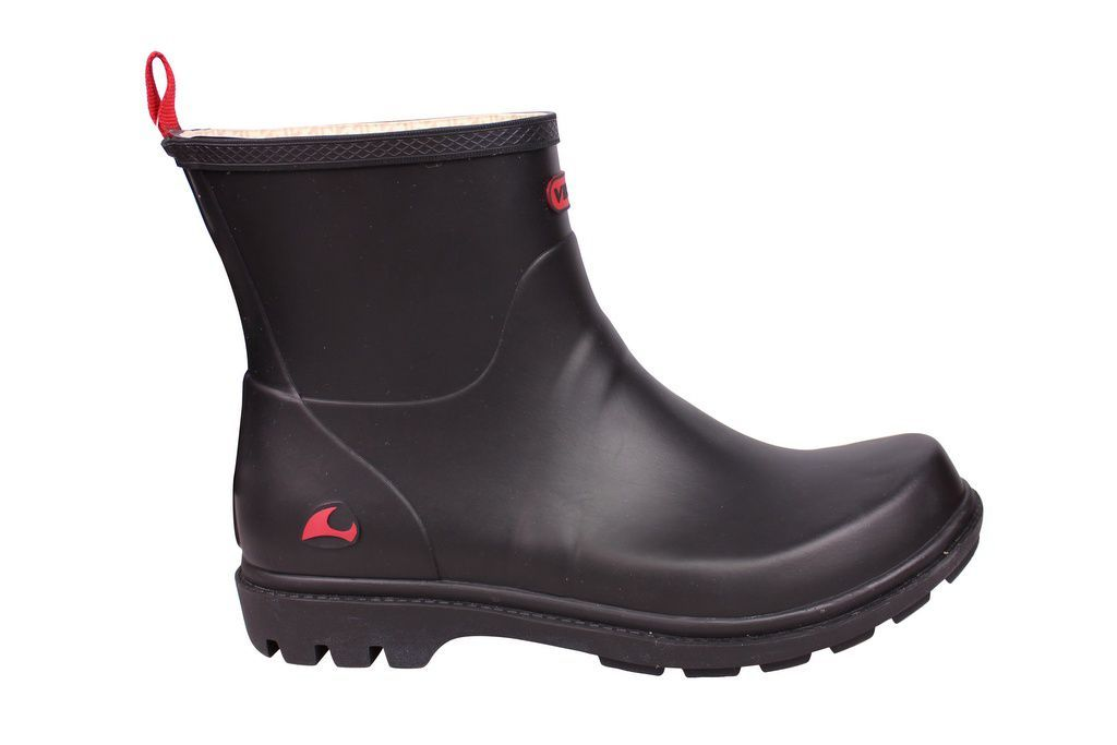 Viking Noble Black Welly side