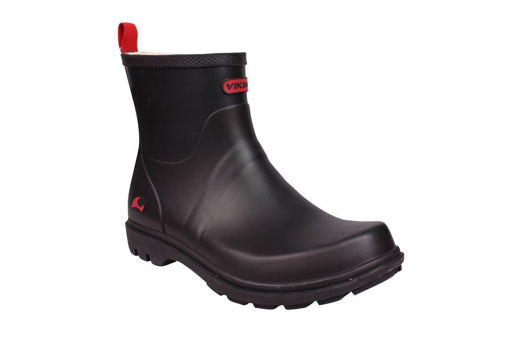 Viking Noble Black Welly Side 2