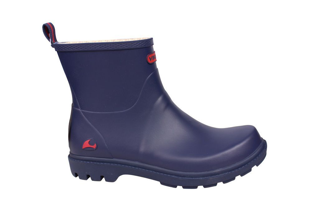 Viking Noble Blue Welly side
