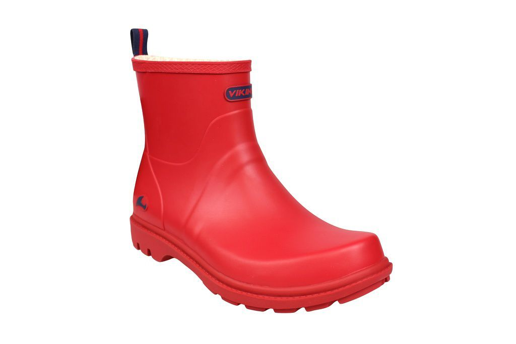 Viking Noble Red Welly Side 2