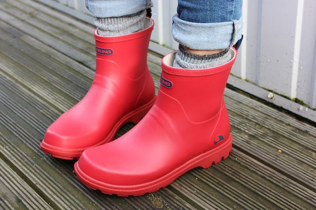 Viking Noble Red Welly style