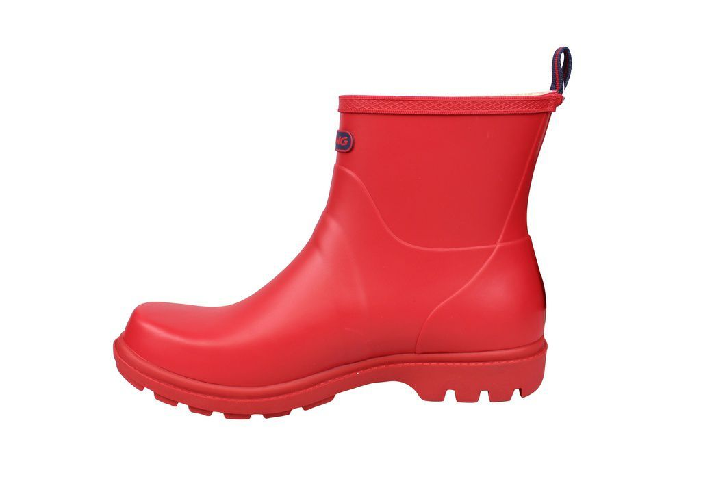 Viking Noble Red Welly Rev Side
