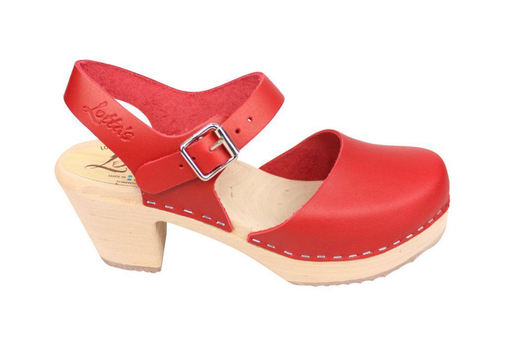 highwood red clog side 2