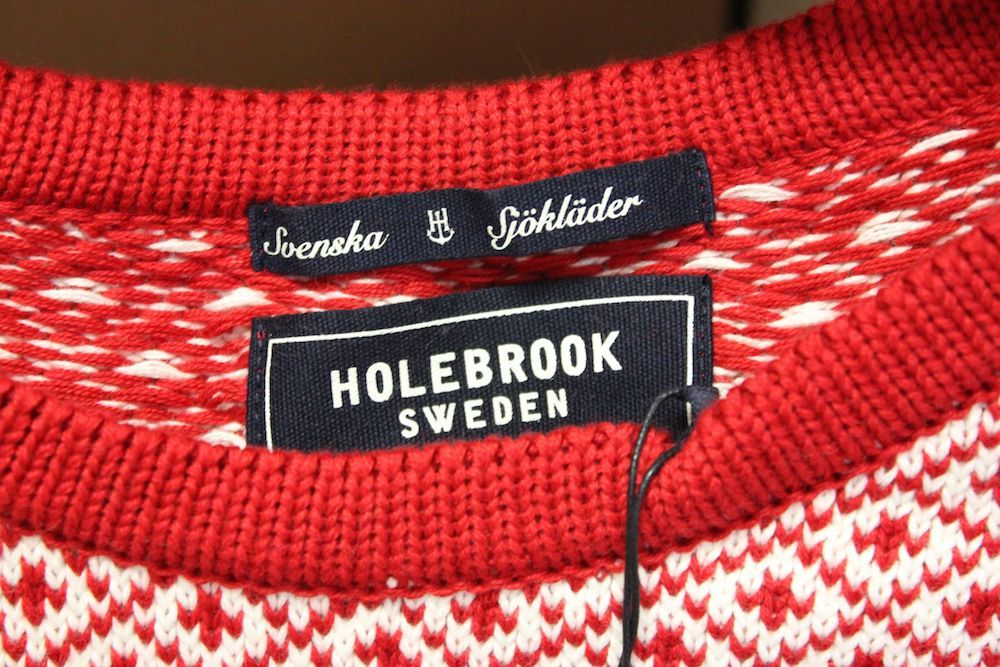 Holebrook Boel Crew Red