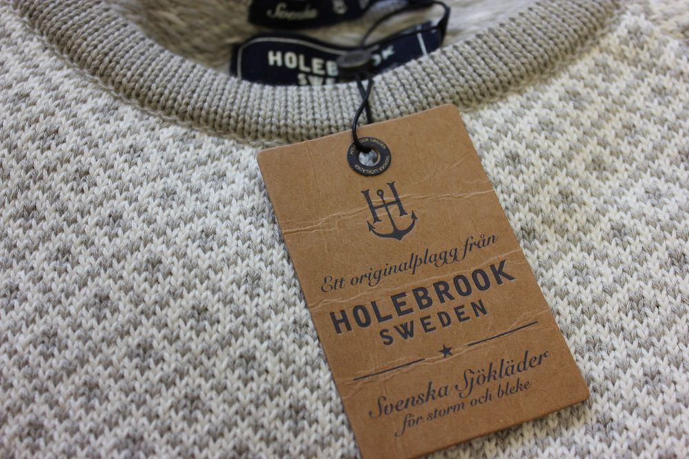 Holebrook Boel Crew Grey