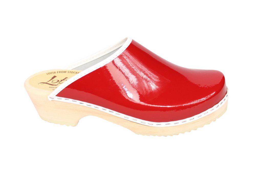Lotta's Retro Patent Red Side 2