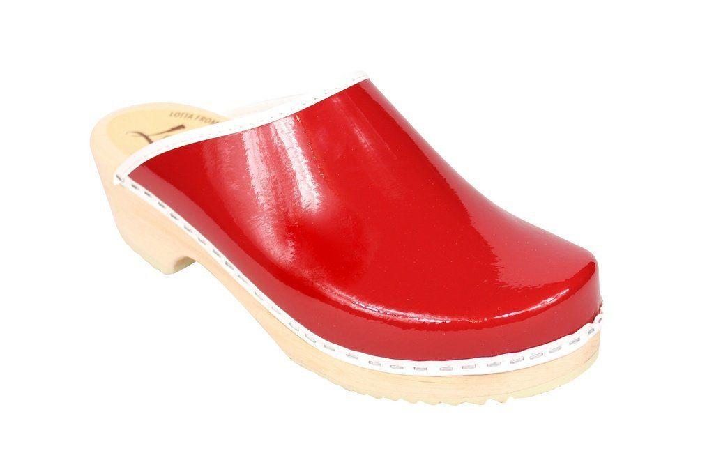 Lotta's Retro Patent Red