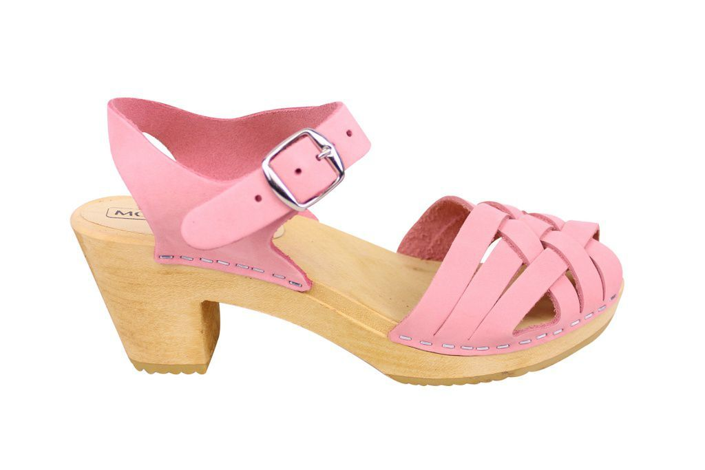 Moheda Betty Pale Pink side