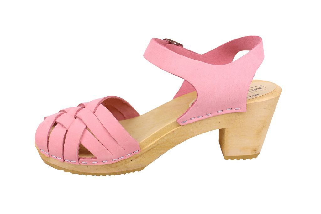Moheda Betty Pale Pink rev side
