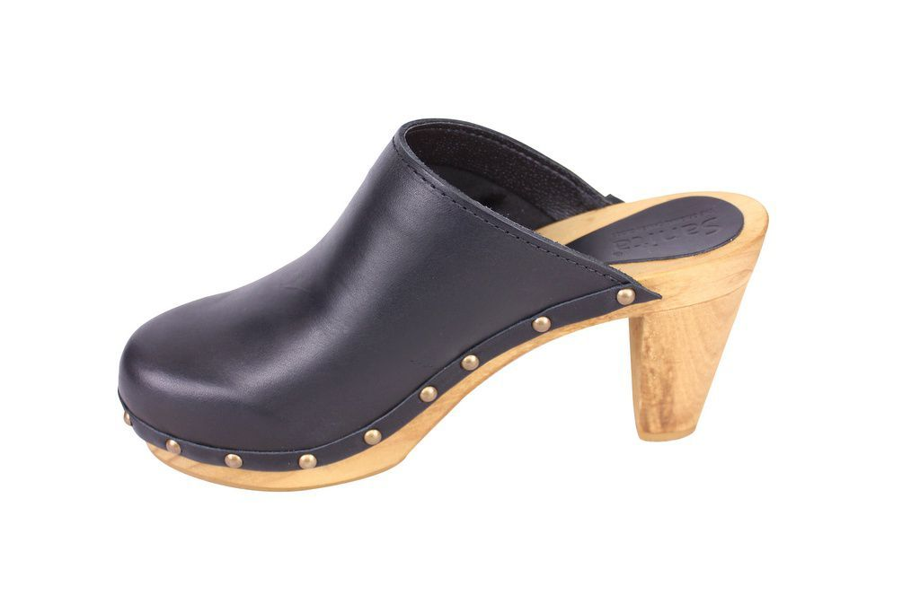 Sanita High Heel Slip On Clog