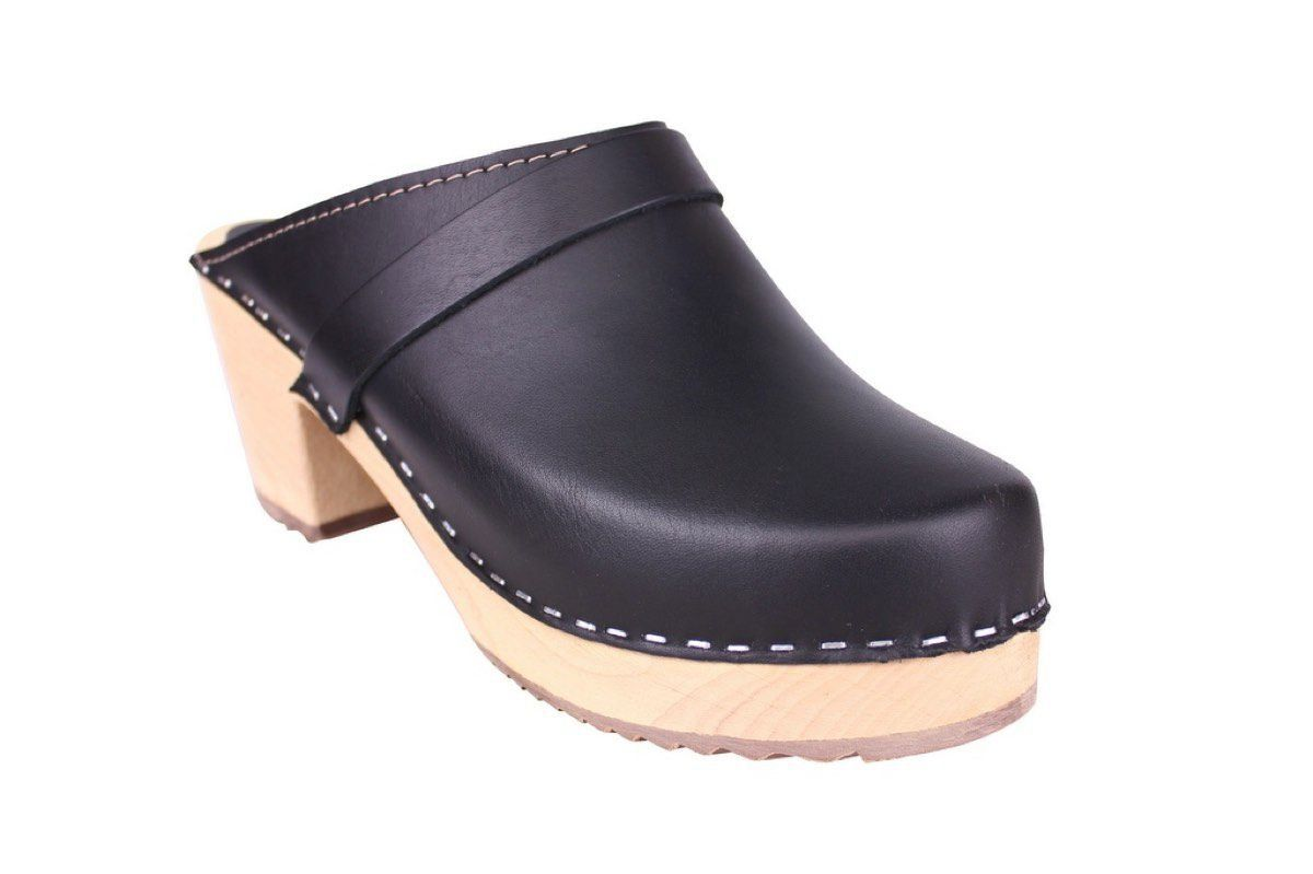 Lotta From Stockholm Classic High Clog in Black Rev Side 2