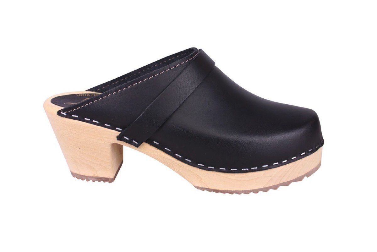 Lotta From Stockholm Classic High Clog in Black Side