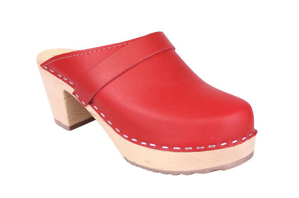 Lotta From Stockholm Classic High Clog in Red Main