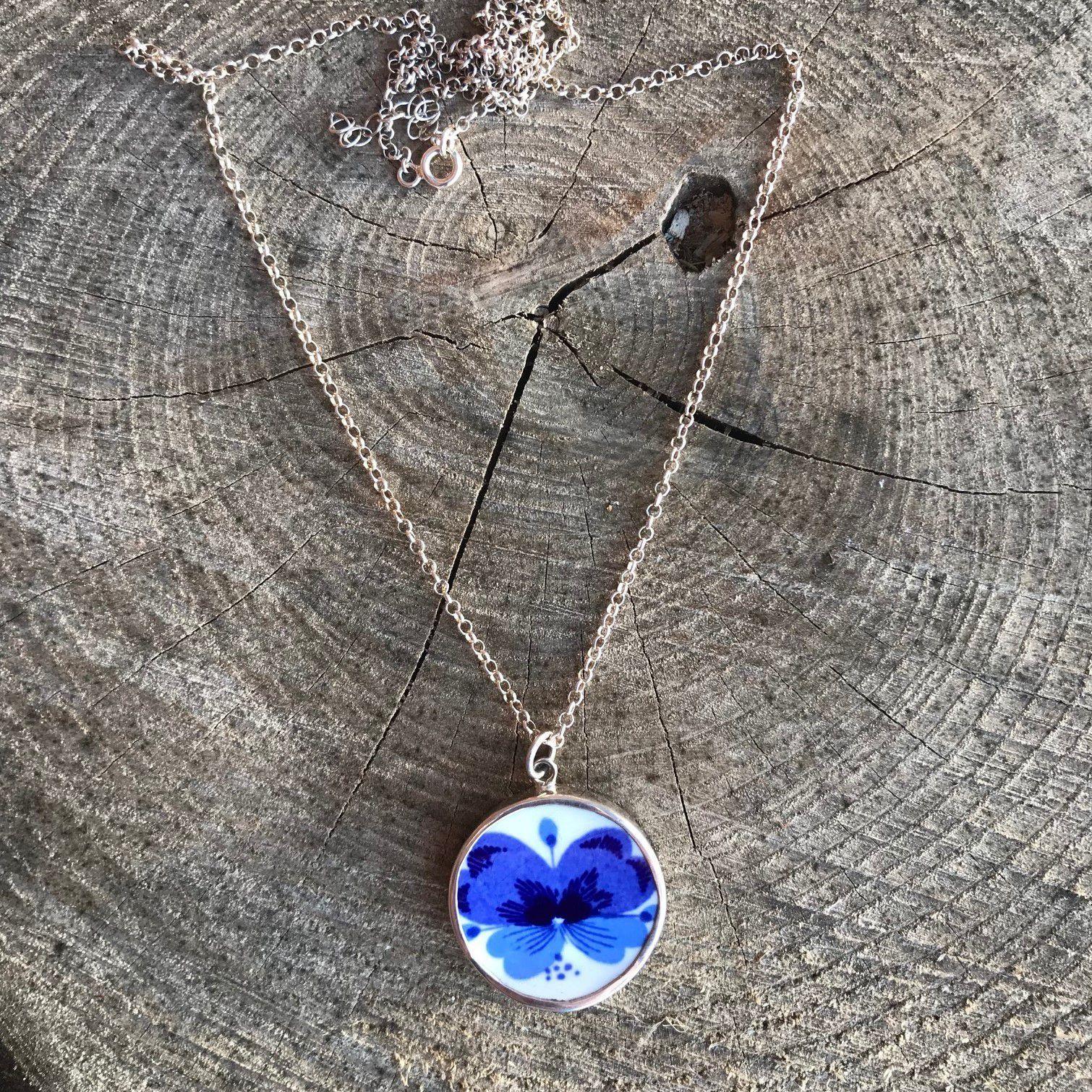 Sagen Viola Necklace