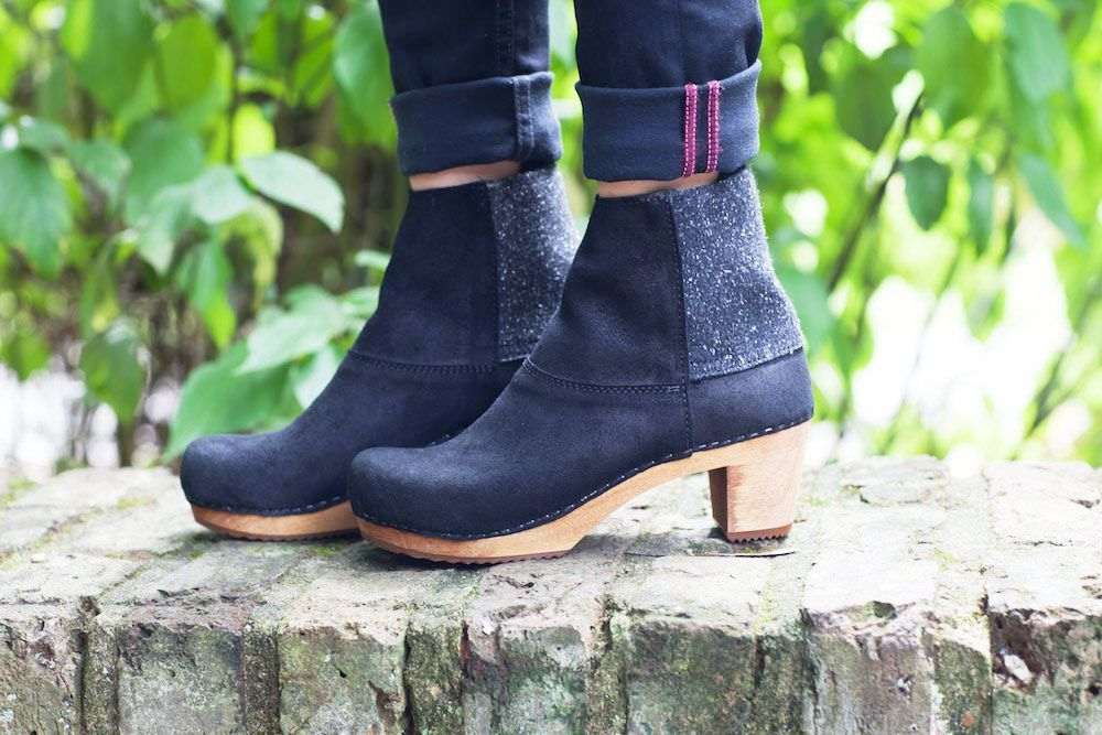 Sanita Lilly Boot Black Seconds