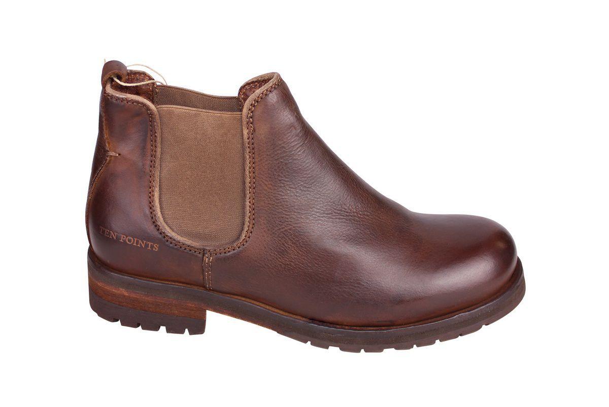 Ten Points Aurora Brown Chelsea Boot side 2
