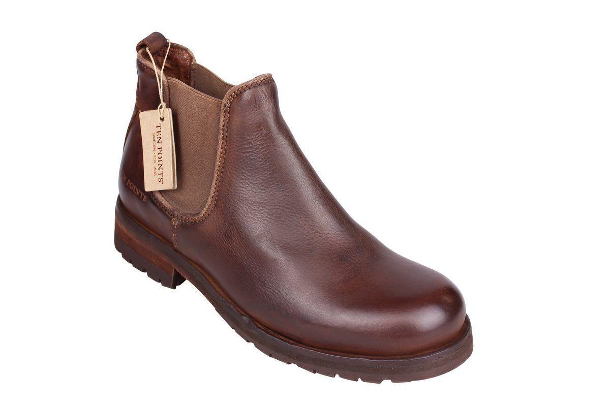 Ten Points Aurora Brown Chelsea Boot