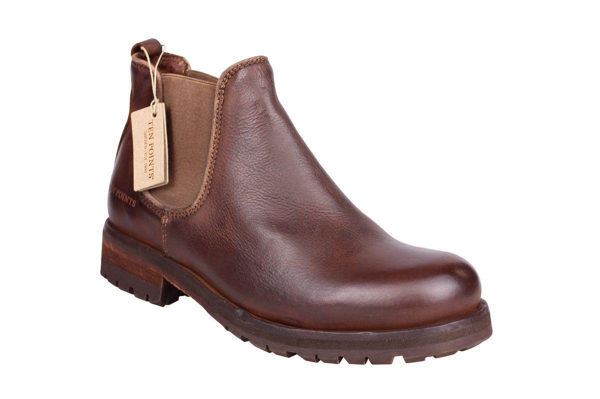 Ten Points Aurora Brown Chelsea Boot main