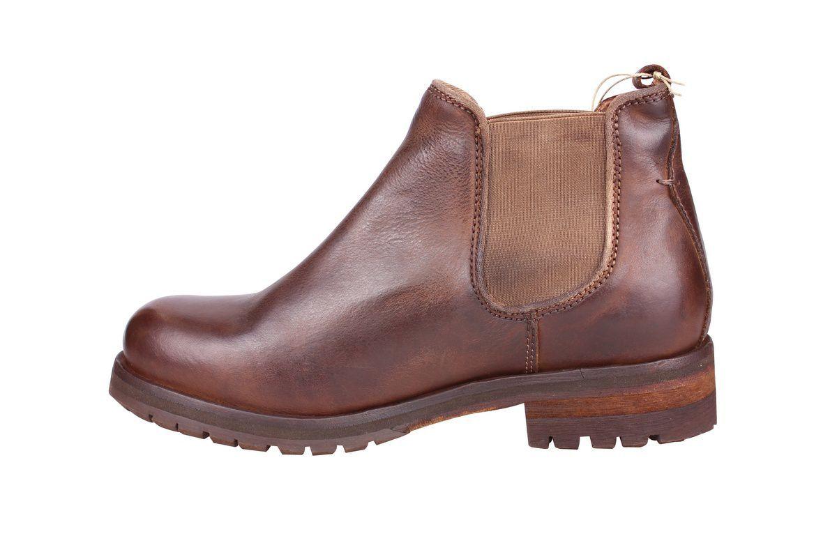 Ten Points Aurora Brown Chelsea Boot rev side