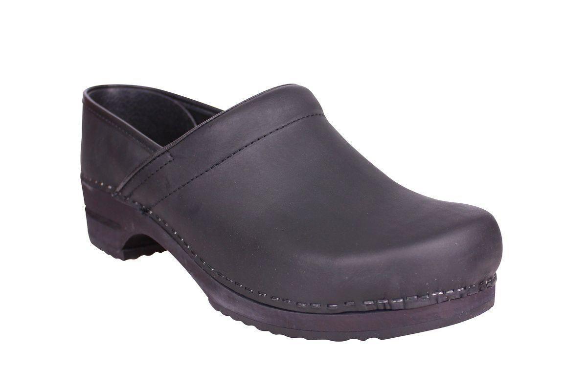 Sanita Julie closed clog in black 1201005W main