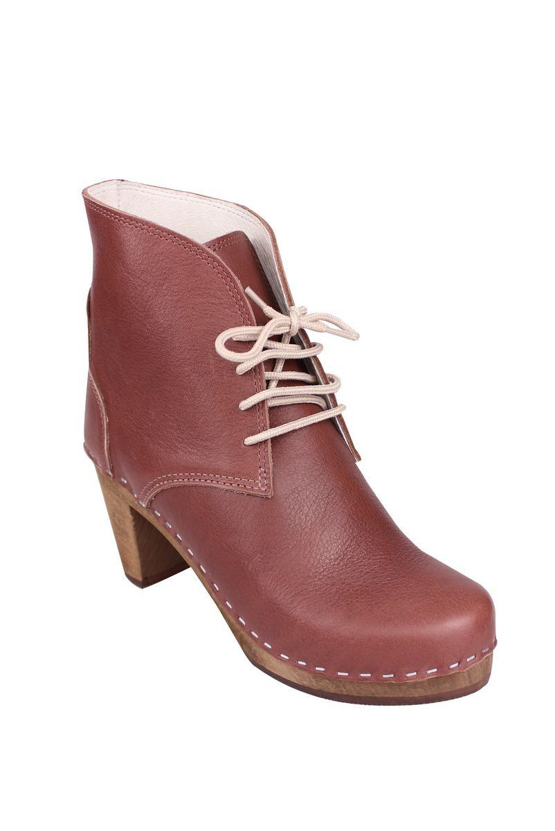 Maguba Casablanca High Heel Boots in Marron