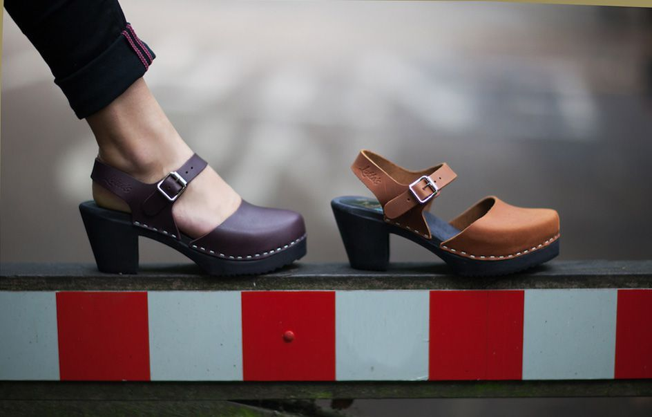 highwood aubergine and brown oiled nubuck with black sole