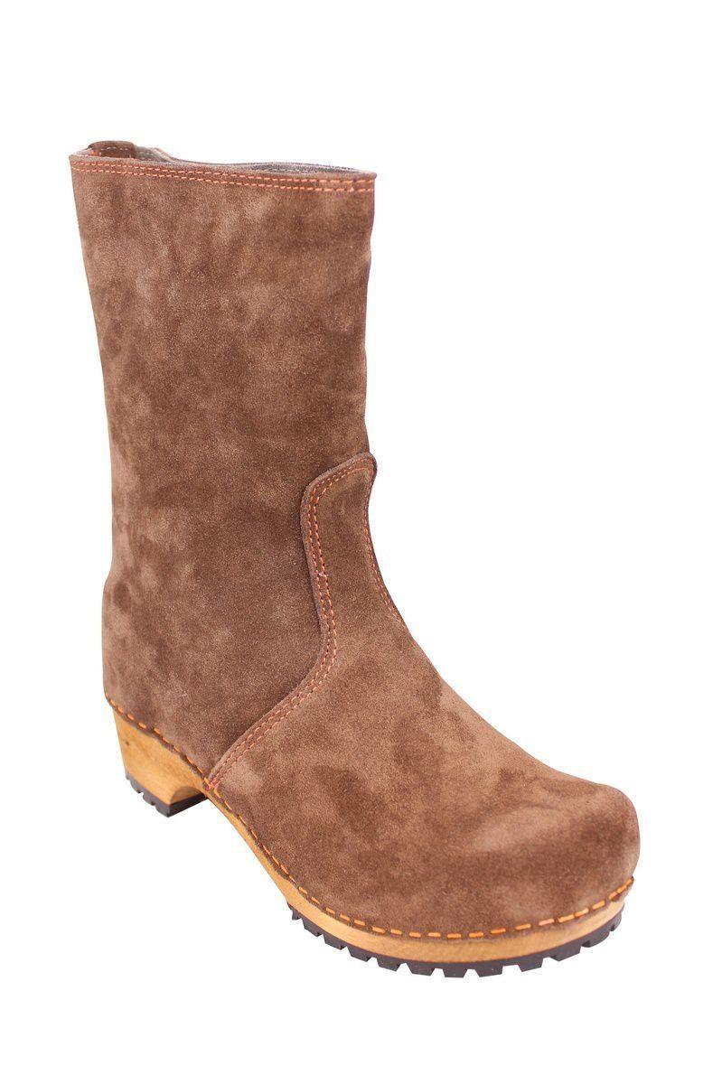 Sanita Charlotta Clog boot in brown