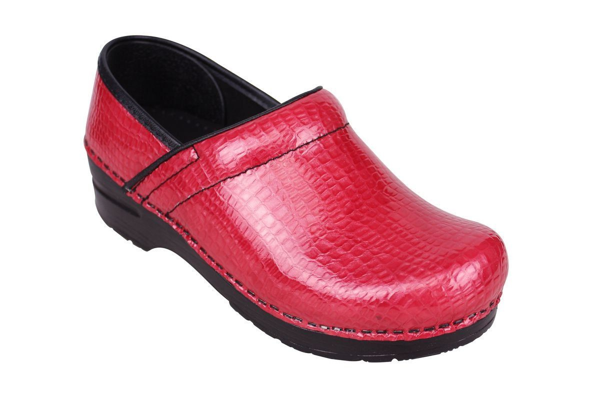 Sanita Professional Croco Red