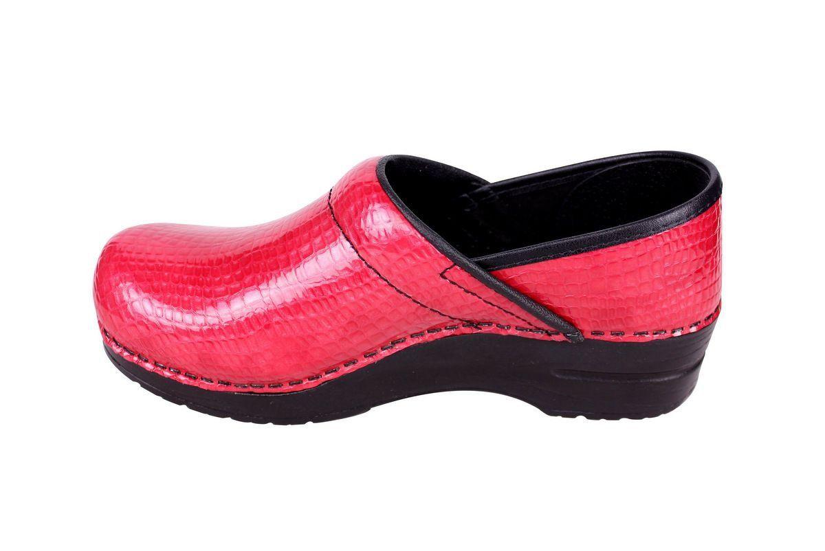Sanita Professional Croco Red rev side 2