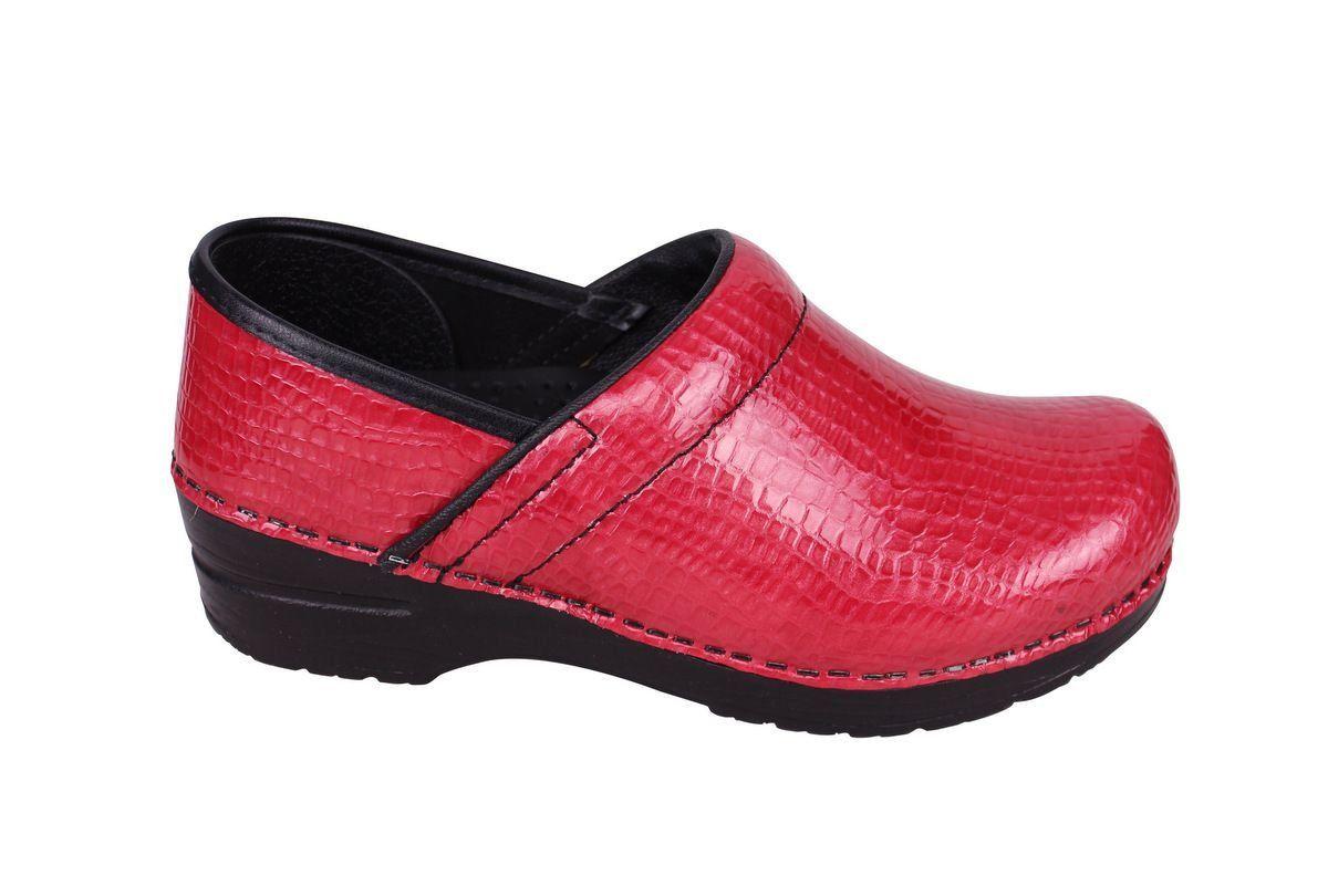 Sanita Professional Croco Red side 2