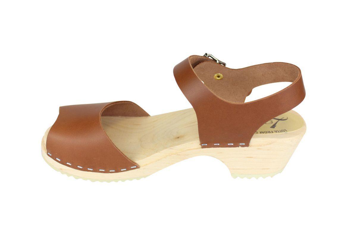 low wood open tan clogs rev side 2