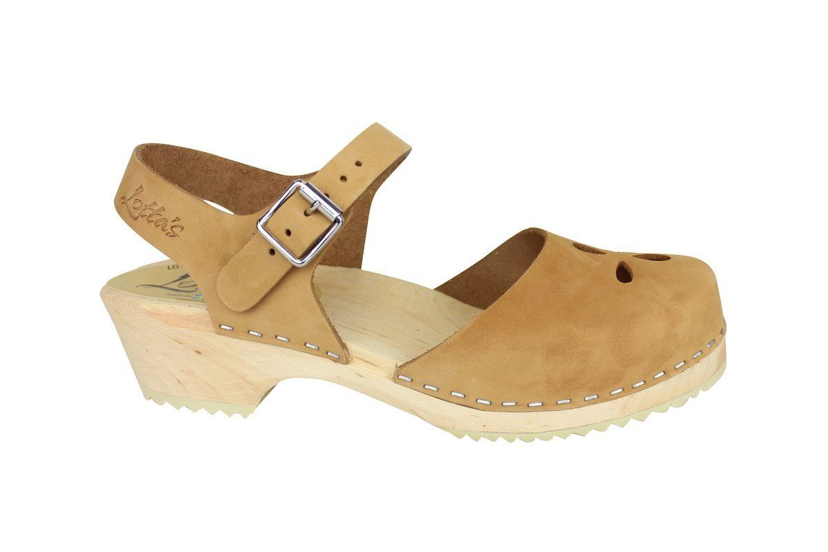 Low Wood Sandy Nubuck Flower side