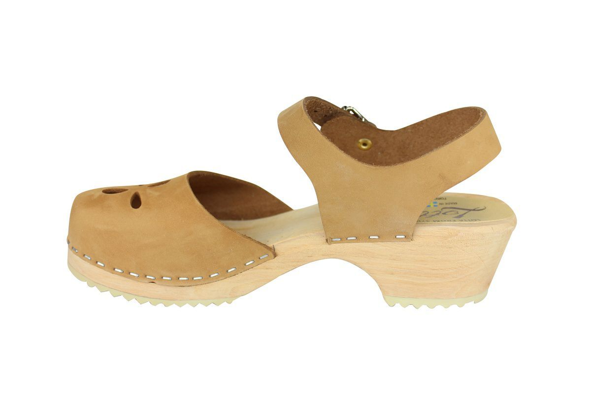 Low Wood Sandy Nubuck Flower rev side