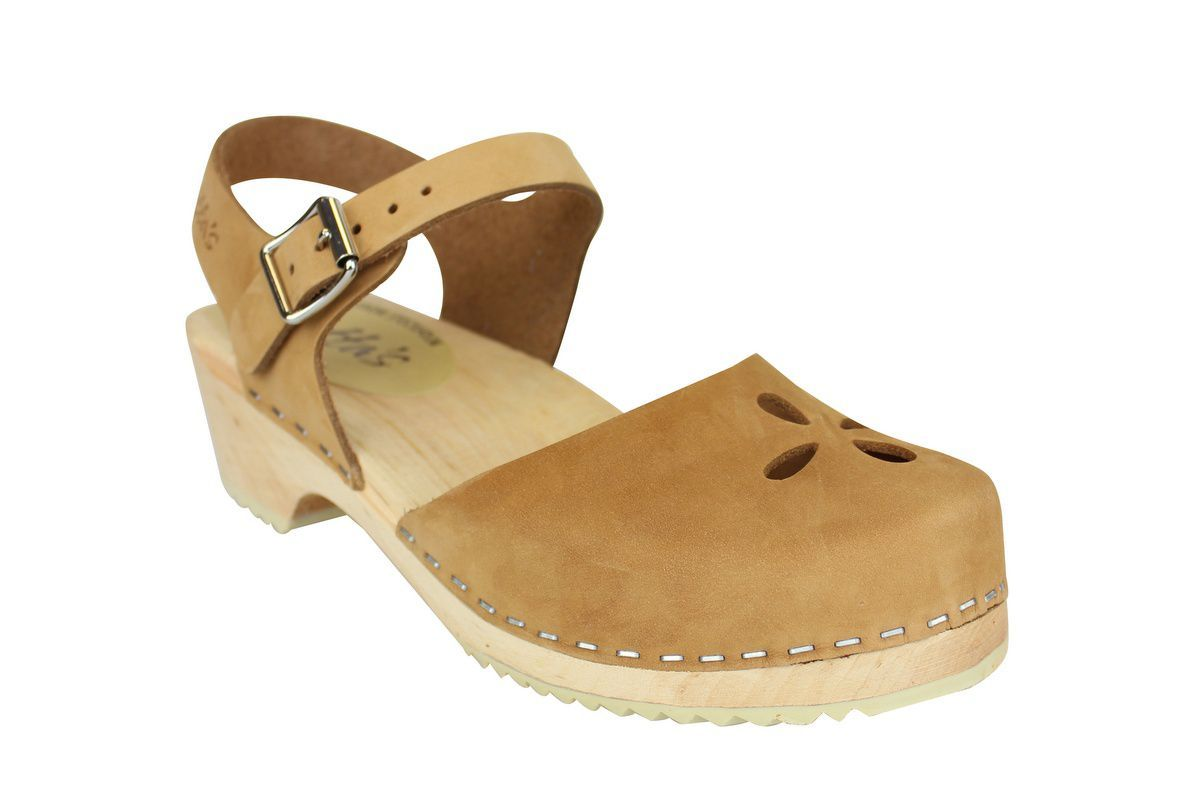 Low Wood Sandy Nubuck Flower main