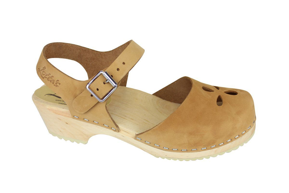 Low Wood Sandy Nubuck Flower side 2