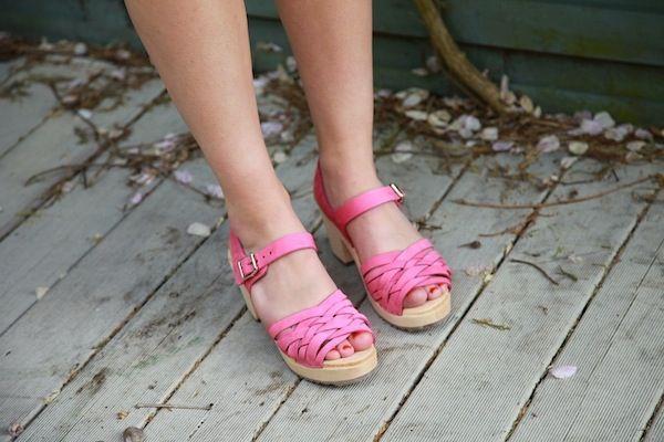 Pink Nubuck Braids Seconds